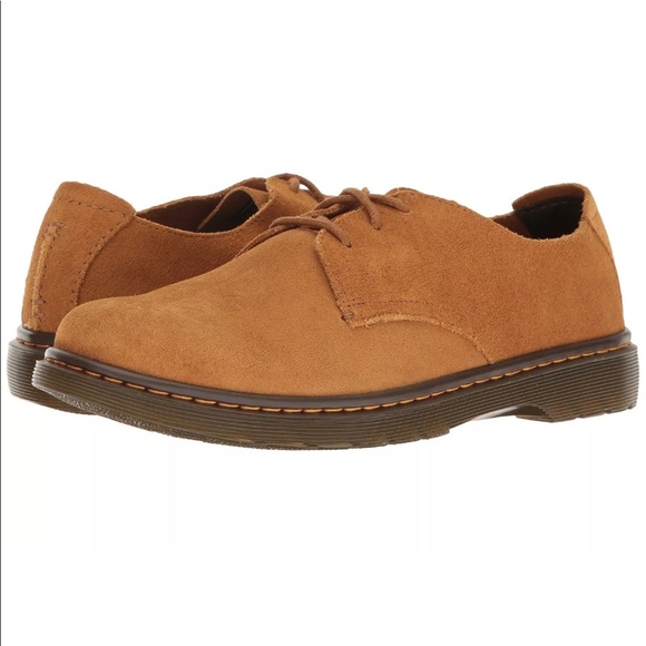 5ecb6e9ef0b1 Dr. Martens SoftWair ELSFIELD Suede Shoes 12